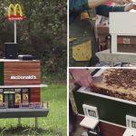 """แมคโดนัลร่วมอนุรักษ์ผึ้ง สร้าง """"McHive"""" ร้านแมคที่เล็กที่สุดในโลก เพื่อผึ้งโดยเฉพาะ"""
