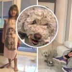 เด็กหญิงวัย 6 ขวบช่วยชีวิตหมาของเพื่อนบ้านได้ทัน ก่อนมันจะถูกหมาป่าไคโยตีปลิดชีพ
