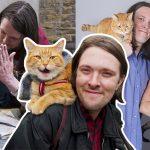 'Bob แมวเพื่อนคน' นอกจากช่วยเปลี่ยนชีวิตทาสแล้ว ยังช่วยให้เขาเจอรักแท้ด้วย