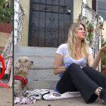 เด็กหญิงเสียสละแซนด์วิชให้สุนัขจรจัด เพื่อให้มันยอมรับการช่วยเหลือจากอาสาสมัคร
