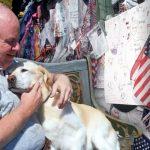 ชายและเพื่อนร่วมงานกว่า 30 ชีวิต รอดจากเหตุก่อการณ์ร้าย ทั้งหมดเพราะหมาช่วย