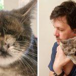 ลูกแมวเกิดมาพร้อมความพิเศษ เลยถูกครอบครัวทิ้ง แต่มันขี้อ้อนจนใครๆ ก็อยากกอด