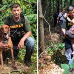 หมาตำรวจตามหาเด็กชายวัย 3 ขวบเจอในครึ่งชั่วโมง ส่งตัวน้องคืนให้แม่ที่เป็นห่วงอยู่