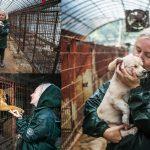 กลุ่มช่วยเหลือสัตว์จากอังกฤษ มาช่วยหมา 30 ชีวิตในฟาร์มเนื้อสัตว์ไกลถึงเกาหลี