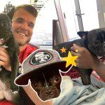 ทีมอเมริกันฟุตบอลรับ 'สุนัข' เข้าร่วมทีม ในฐานะนักบำบัดทางจิตและเป็นกำลังใจสำคัญ