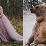 """เจ้าของ """"หมียักษ์"""" ถูกวิจารณ์หนัก หลังปล่อยให้ผู้คนมาถ่ายรูปกับหมีเพื่อเรียกยอดไลค์"""