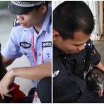 สุนัขตำรวจทำงาน 11 ปีถึงเวลาเกษียณ แต่ถึงไม่ได้ทำงาน ตำรวจก็ยังช่วยกันดูแลมัน