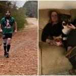 หมาจรจัดร่วมวิ่งแข่งไปไกลถึง 24 กม. ทำให้มันได้เจอเจ้าของใหม่ที่รักการวิ่งเหมือนกัน