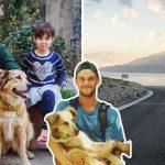 """หนุ่มนักเดินทางรับเลี้ยง """"ลูกหมา"""" ระหว่างทาง และพามันออกไปผจญภัยทั่วโลกด้วยกัน"""